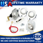 3977767 3392519 3387134 3399848 Dryer Thermostat Fuse Kit For Whirlpool Kenmore
