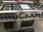 48 Thermador Stainless Gas Range In La