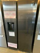 Samsung Rs27t5200sg 36 Black Stainless Side By Side Refrigerator Nob