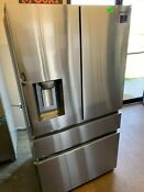 Samsung Rf23m8070sr 36 Inch Counter Depth 4 Door French Door Refrigerator Nob