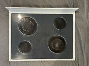White Maytag Range Oven Stove Glass Top Oem Part 74011104 5706x587 81