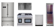 Thor Pro Appliance Package With 48 All Gas Range Wine Cellar