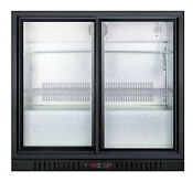 Summit Scr700bcss 36 W 7 4 Cu Ft Commercial Beverage Glass Stainless Steel