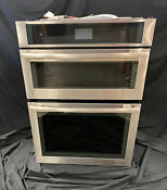 Jenn Air Jmw2430ds Euro Style 30 Double Combination Oven Convection Microwave