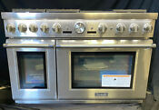 Thermador Pro Grand Professional Series Prg486jdg 48 Prostyle Natural Gas Range