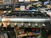 36 Thermador Stainless Gas Rangetop 6 Pcg366g 11 In Los Angeles