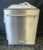 Kitchenaid Kdte204kps 24 Stainless Steel Built In Tall Tub Dishwasher