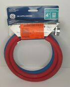 Ge Rubber Washer Hoses 2 Pack 4 90 Degree Elbow Color Coded No Gaskets