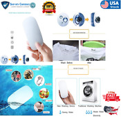 Portable Mini Washing Machine Compact Washer Dirt Cleaner Travel Apartment Dorms