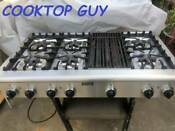 48 Thermador Stainless Gas Range Top 6 Griddle In La