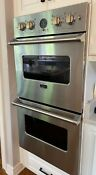 Viking 27 Double Electric Wall Oven Stainless Steel Chicago Area Pick Up