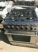 30 Dcs Stainless Gas Range In Los Angeles