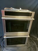 Monogram Zkd90dpsnss 27 Built In Electric Smart Double Convection Wall Oven Ss
