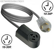 4ft Dryer Extension Cord Female 10 30r 3 Prong Receptacle Male 10 30p 3 Pin Plug