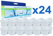 24 Jug Water Filter Cartridges Compatible With Brita Maxtra Bosch Tassimo
