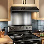 Stove Backsplash Stainless Steel Durable Metal Kitchen 24 X 30 Easy To Clean