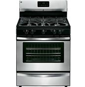 Gas Range Stove Broil And Serve Drawer Stainless Steel Kenmore New