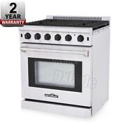 30 Kitchen Freestanding 5 Burner Gas Range Stainless Steel Gas Oven Stove A8n8