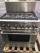 36 Pro Style Dual Fuel Range With Convection Prd3630np For Parts