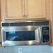Stainless Steel Kitchen Aid Microwave Khms155lss