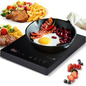Portable 1800w Home Kitchen Burner Digital Touch Controls Induction Cooker Tool
