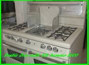 Vintage Gaffers And Sattler 5 Burner Stove With Griddle