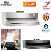 Under Cabinet Range Hood 36 Inch Kitchen Cooking Stove Vent Fan