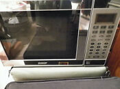Tappan Stainless Steel Boat Microwave Oven Tm7050s New In Box