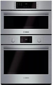 Bosch Hbl5751uc 500 Series 30 Electric Combo Wall Oven In Stainless Steel