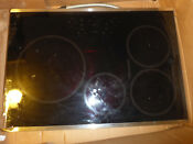 Damaged Ge Profile Php9030sj2ss 30 Induction Cooktop In Stainless Steel Asis