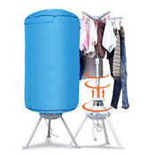 Home Portable Electric Clothes Dryer Ventless Wrinkle Laundry Hot Air Machine