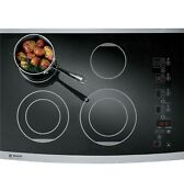 Monogram Zeu30rsfss 30 Inch Smoothtop Electric Cooktop With 4 Radiant Elements