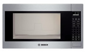 Bosch Hmb5051 500 Series 2 1 Cu Ft Built In Microwave In Stainless Steel
