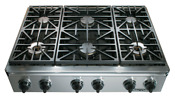 Dacor Eg366sch Ng Discovery 36 Gas Rangetop 6 Burner Stainless Steel