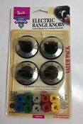 Ge Electric Range Black Control Knobs Parts Master Pm3x84 Universal Adapter