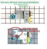 Genuine Kenmore Refrigerator Water Ice Valve For 1187394 Ap6010515 Ps11743697