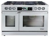 Dacor Discovery Iq 48 Inch Slide In Dual Fuel Range Stainless Dyrp48dsngh