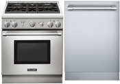 Thermador Prg304gh 30 Pro Harmony Range And Free Emerald Dishwasher Ss