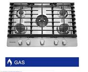 Kitchenaid 30 Gas Cooktop With 5 Burners Including Professional Dual Ring Burne