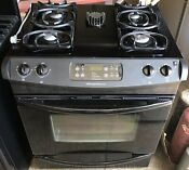 Frigidaire Gas Range Oven Slide In Fgs379dba Black Finish
