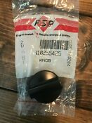 Jenn Air Range Burner Knob Part W10255425 Black New Oem Open Box
