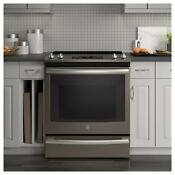 Ge 30 Slide In Electric Convection Range Black