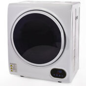 Automatic Electric Laundry Dryer Digital Display Clothes Machine Timer White