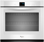 Whirlpool Wos51ec7aw 27 Inch Single Electric Wall Oven 4 3 Cu Ft In White