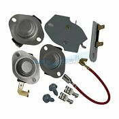 279816 3977767 3392519 3387134 Kenmore Dryer Thermostat Cut Off Thermal Fuse Kit