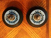 Used Package Of 2 Lg Washer Rollers Part Number 4661el3001