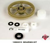 New Genuine Oem Whirlpool Washer Pulley And Thrust Bearing Kit 12002213