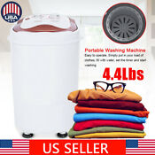New 4 4lbs Portable Mini Small Washing Machine Compact Dryer Washer Home Laundry