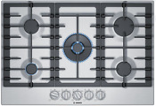 Bosch Ngm8657uc 800 Series 36 Inch 5 Burner Stainless Steel Gas Cooktop