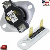3387134 3392519 Dryer Cycling Thermostat Thermal Fuse Replacement Part
